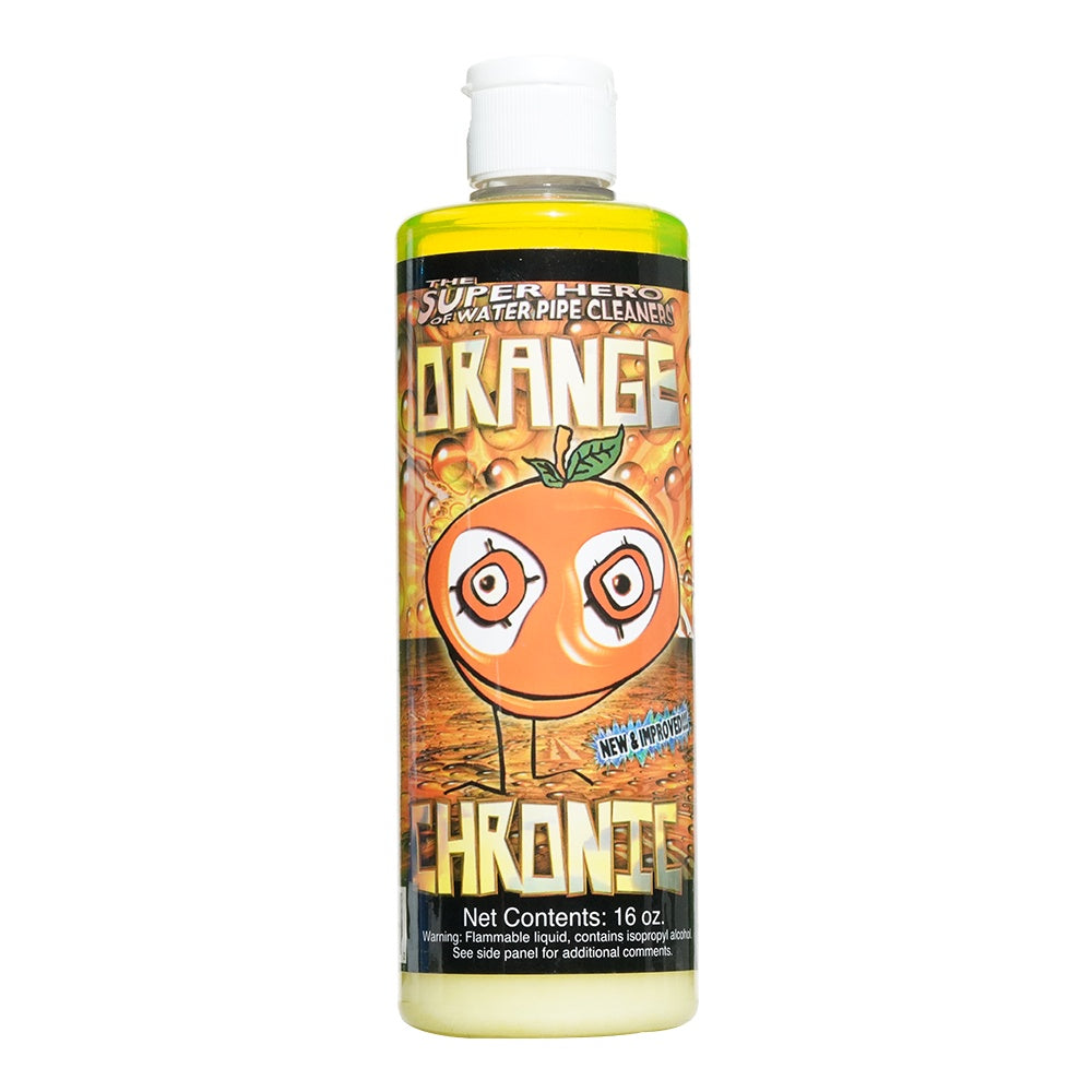 Orange Chronic Pipe Cleaner 16oz