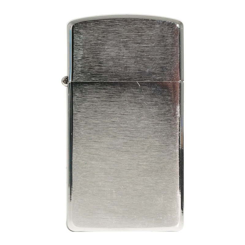 Zippo 1600 Slim Brush Finish Chrome