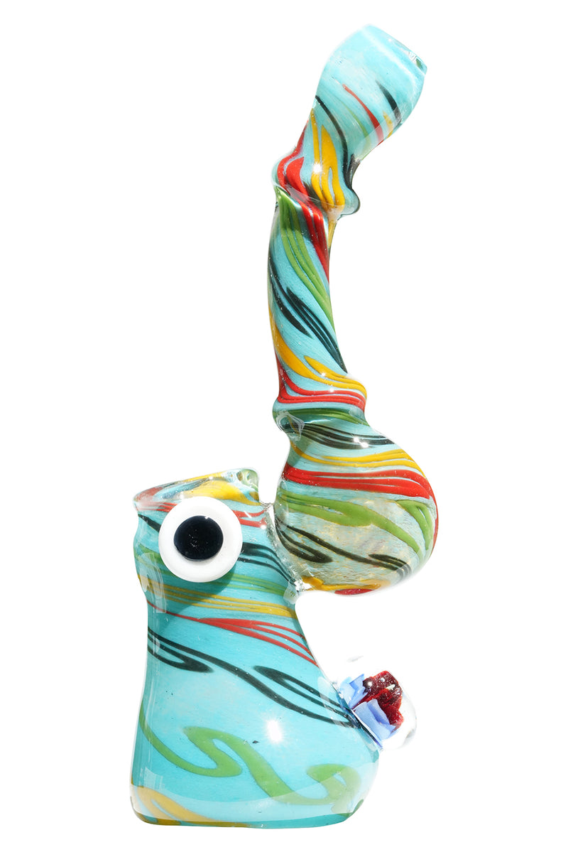 Swirl Fish Eye Bubbler