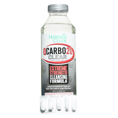 Herbal Clean Q Carbo 20 Clear Detox