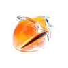 Black Sand Glass Orange Wave w/ SurfBoard