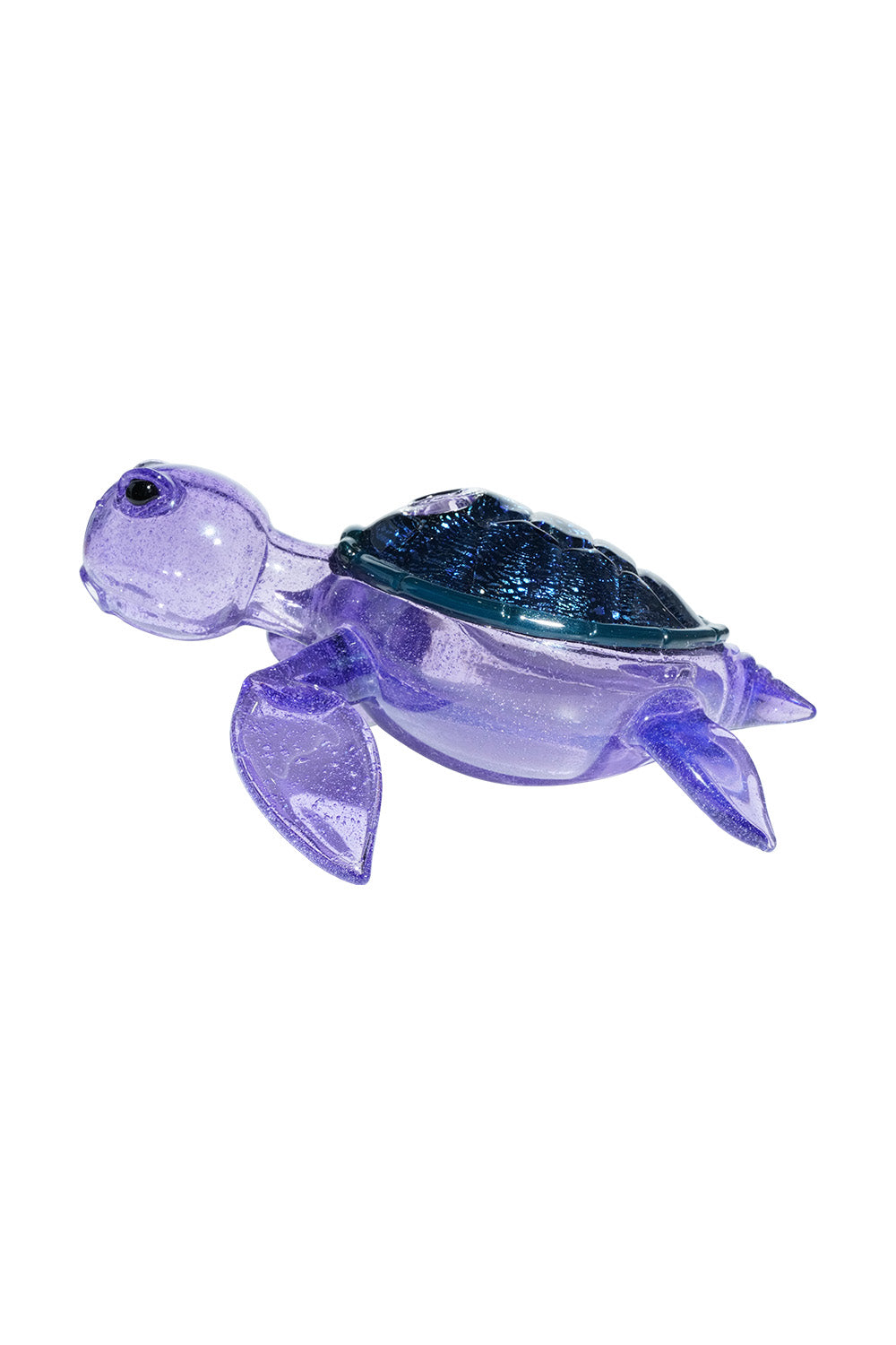 Turtle Time Purple Lollipop Turtle
