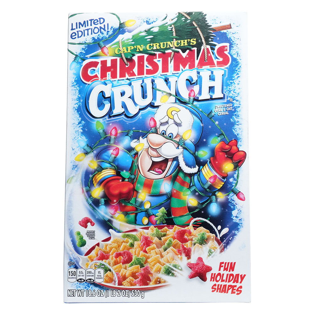 Cap'n Crunch's Christmas Crunch Limited Edition