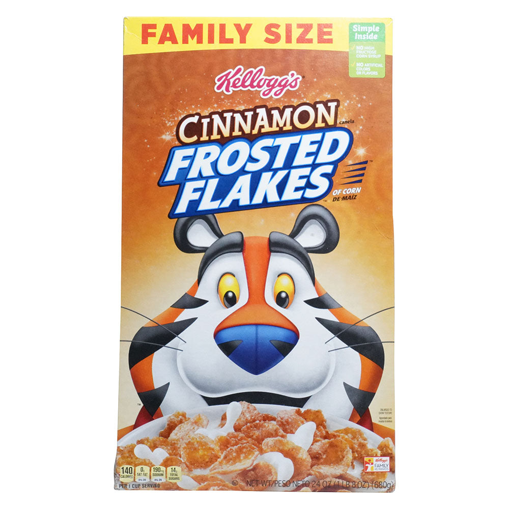 Frosted Flakes Cinnamon