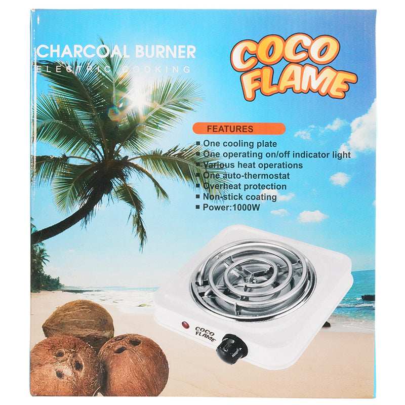 CoCo Flame Electric Charcoal Burner