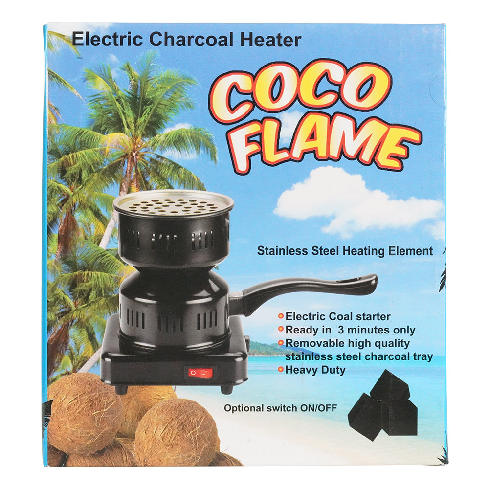 CoCo Flame Electric Charcoal Heater