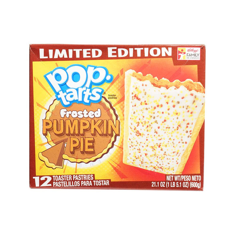 Pop Tarts Pumpkin Pie Limited Edition