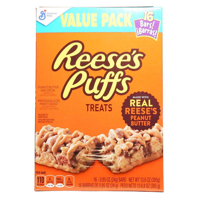 Reeses Puffs Treats Value Pack