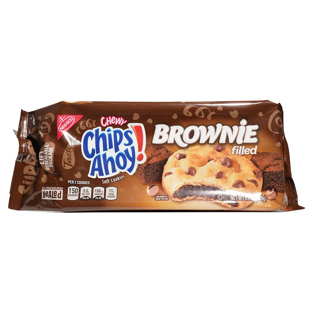 Chips Ahoy Brownie Filled