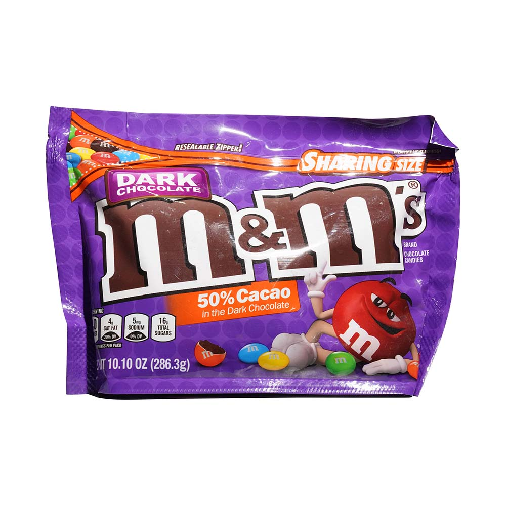 M&M Sharing Size