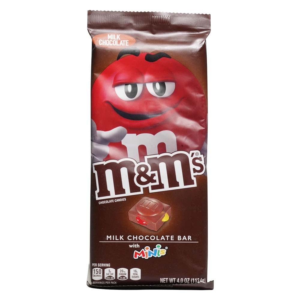 M&M Milk Chocolate Bars