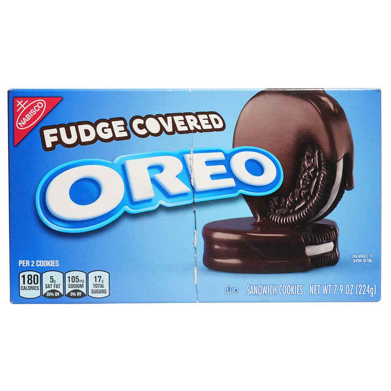 Oreo Fudge Covered
