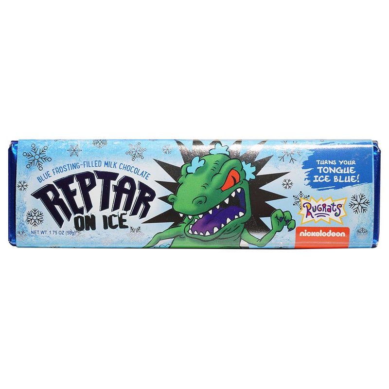 Rugrats Reptar On Ice Chocolate Bar