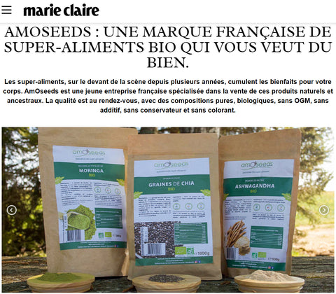 Marie Claire amOseeds