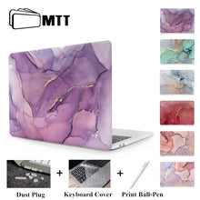 Load image into Gallery viewer, MTT Laptop Case For Apple Macbook Air Pro Retina 11 12 13 15 Marble Hard Cover for mac book 13.3 inch With Touch Bar a1706 a1502