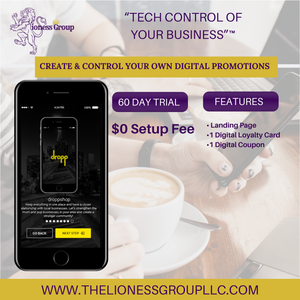 DROPP for business - FREE - includes 500 digital LOYALTY punches!
