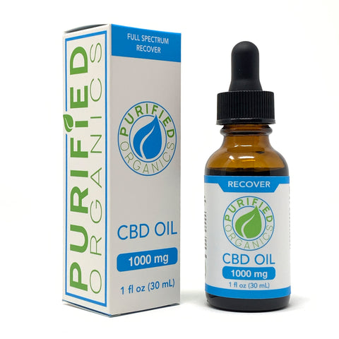 1000 mg, 30 mL Full Spectrum CBD Oil