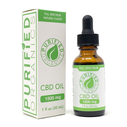 1500 mg, 30 mL Full Spectrum CBD Oil