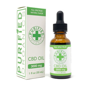 3000 mg, 30 mL Full Spectrum CBD Oil