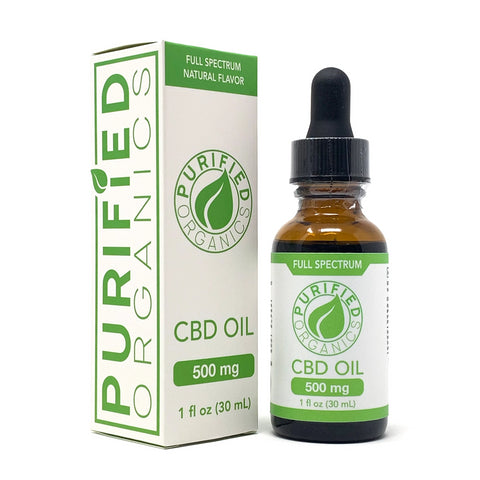 500 mg, 30 mL Full Spectrum CBD Oil
