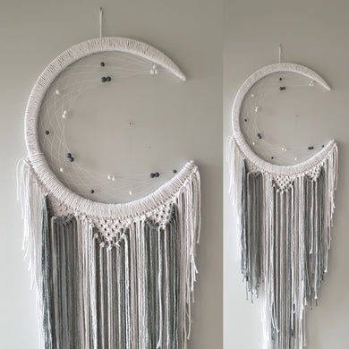 White and grey mooncatcher