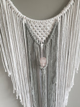 Load image into Gallery viewer, Rose quartz dreamcatcher
