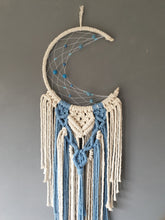 Load image into Gallery viewer, Small blue moon dreamcatcher