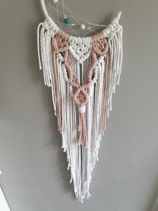 Baby pink moon dreamcatcher