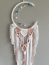 Load image into Gallery viewer, Baby pink moon dreamcatcher