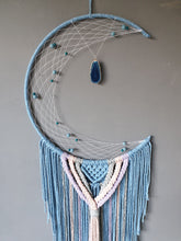Load image into Gallery viewer, Baby blue moon dreamcatcher