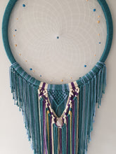 Load image into Gallery viewer, Large macrame dreamcatcher