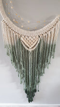 Load image into Gallery viewer, Dip dye macrame mooncatcher