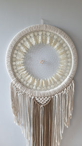 Boho lace dreamcatcher