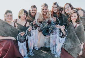 Bridesmaids gift dreamcatcher