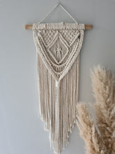 Load image into Gallery viewer, Diamond macrame wall hanging