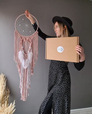 Dreamcatcher kit and tutorial