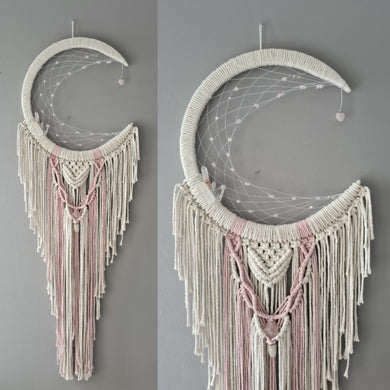 Melba moon catcher with crystals