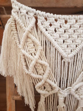 Load image into Gallery viewer, Macrame chair back, wedding chair back