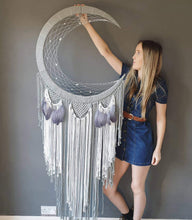 Load image into Gallery viewer, Maia moon dreamcatcher