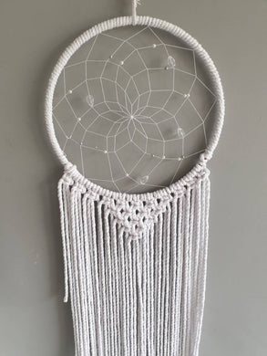 Sparkle white dream catcher
