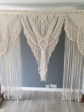 Load image into Gallery viewer, Macrame arch, wedding arch
