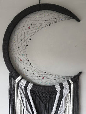 Large black and grey mooncatcher, Makkala