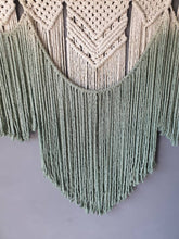 Load image into Gallery viewer, Macrame wall hanging, dip dye macrame