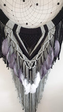 Load image into Gallery viewer, Beautifully detailed gothic dream catcher