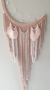Soft pink moon catcher
