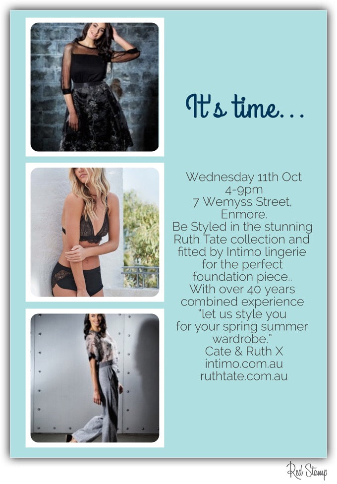Styling Evening Wednesday 11 October 4-9pm