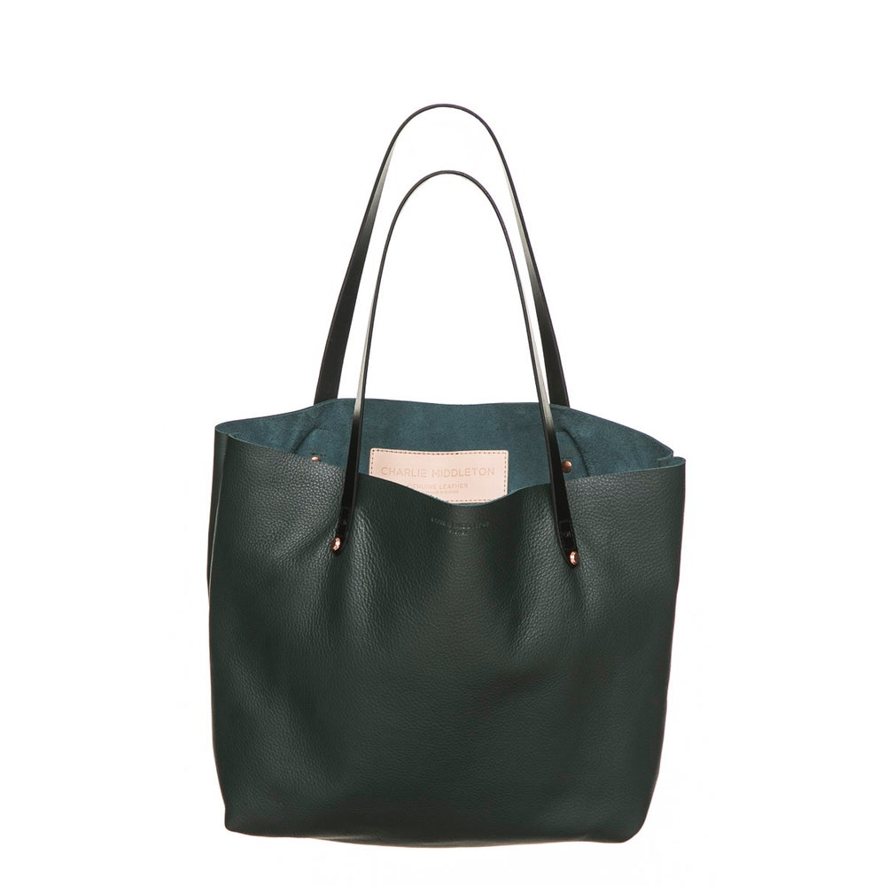 Bottle Nappa Bespoke Tote by Charlie Middleton