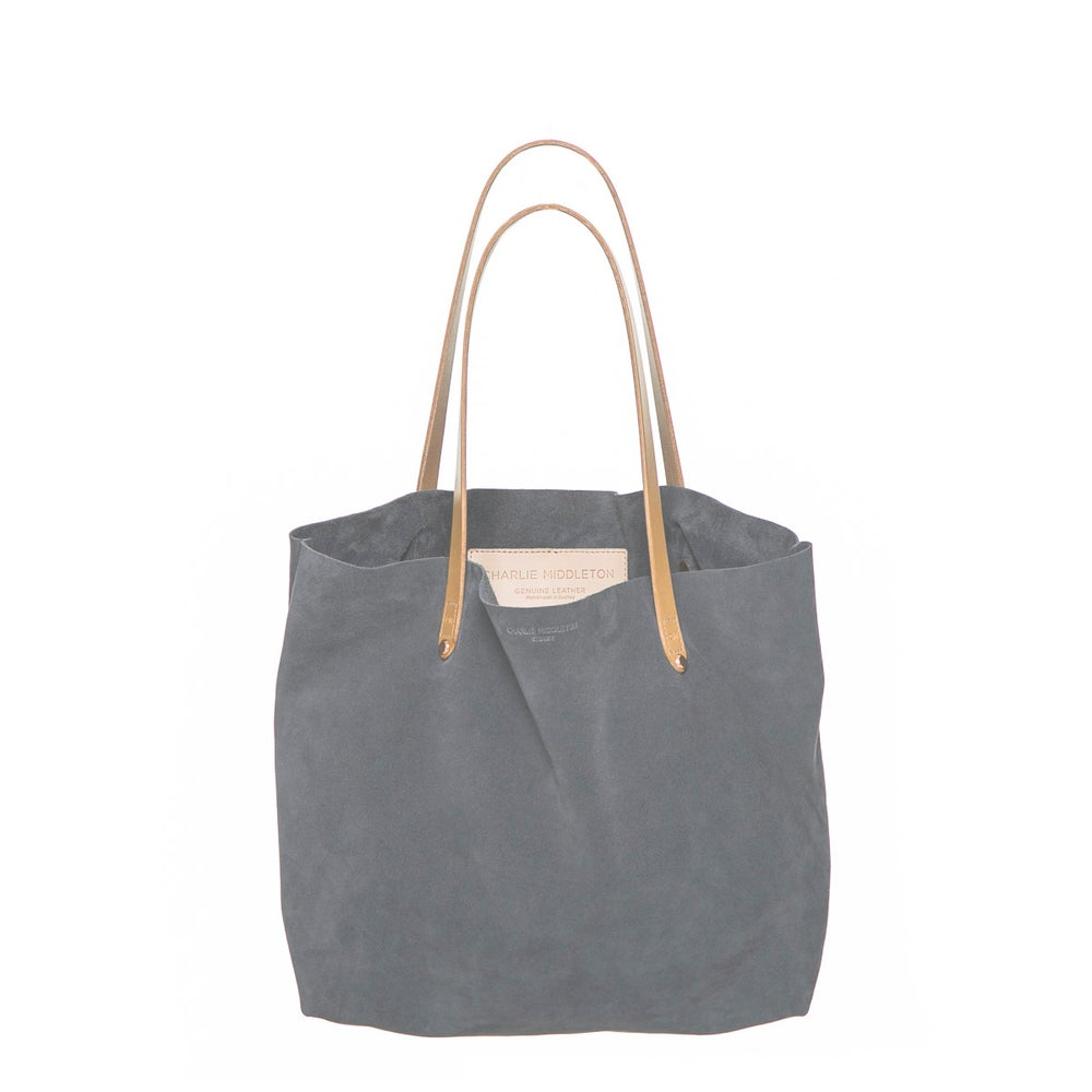 Oliphant Suede Bespoke Tote by Charlie Middleton