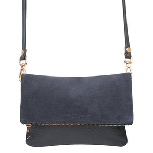Midnight Two Tone Mini Weekend Clutch