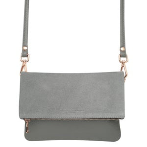 Oliphant Two Tone Mini Weekend Clutch
